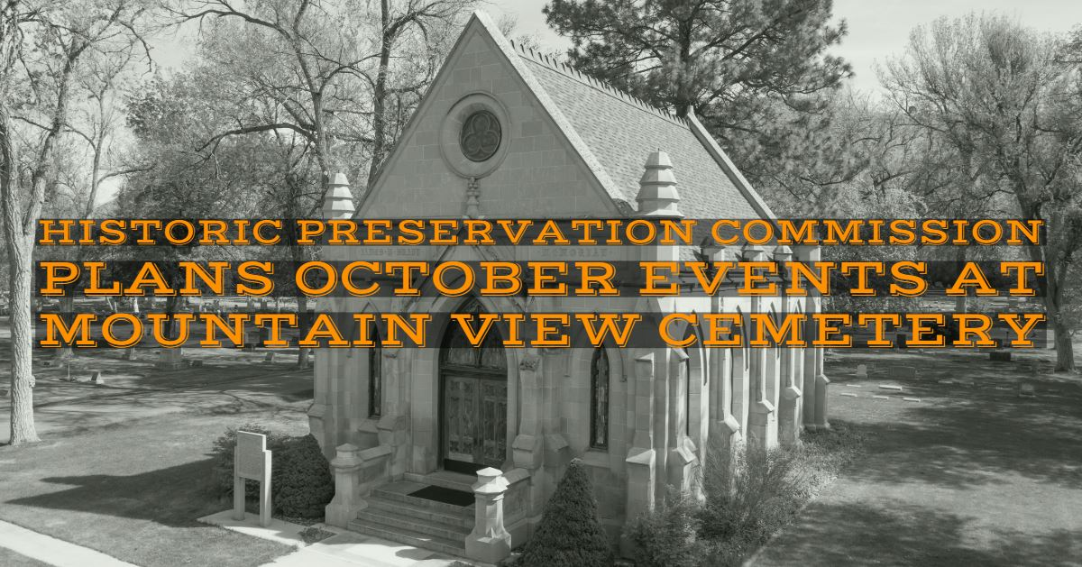 During the month of October, the Pocatello Historic Preservation Commission will be holding a pair o