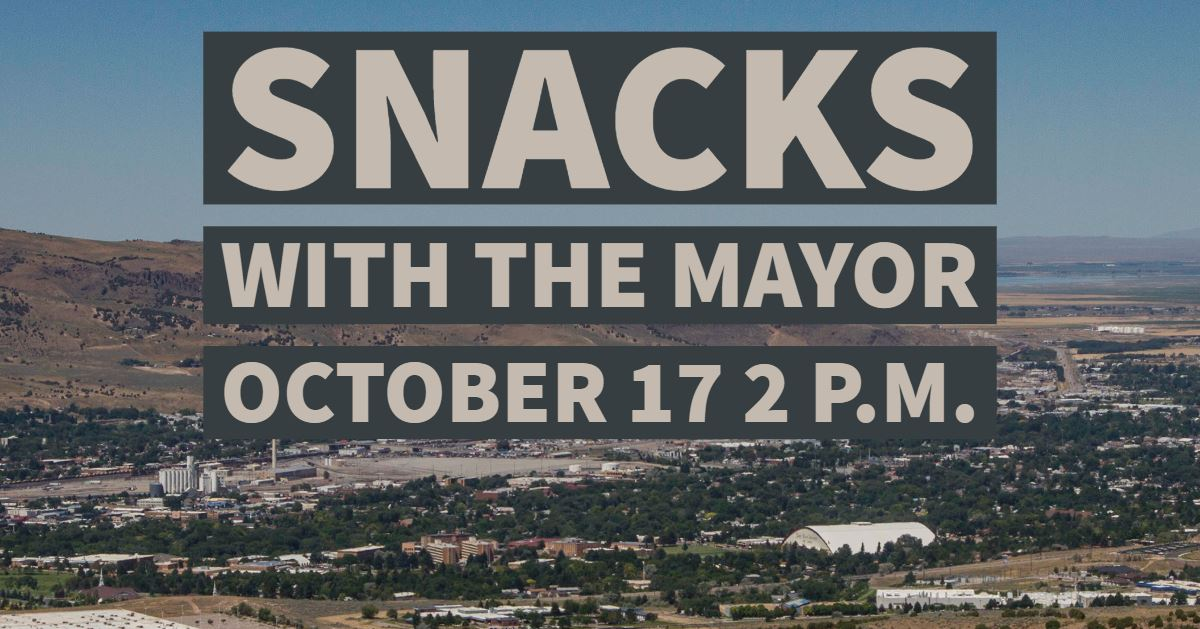 "Community members will have a chance to speak with Mayor Brian Blad during ""Snacks with the Mayor"" i"