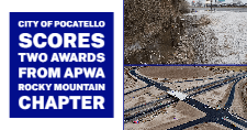 Pocatello Creek restoration project and the Northgate Interchange