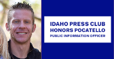 Logan McDougall, City of Pocatello Public Information Officer