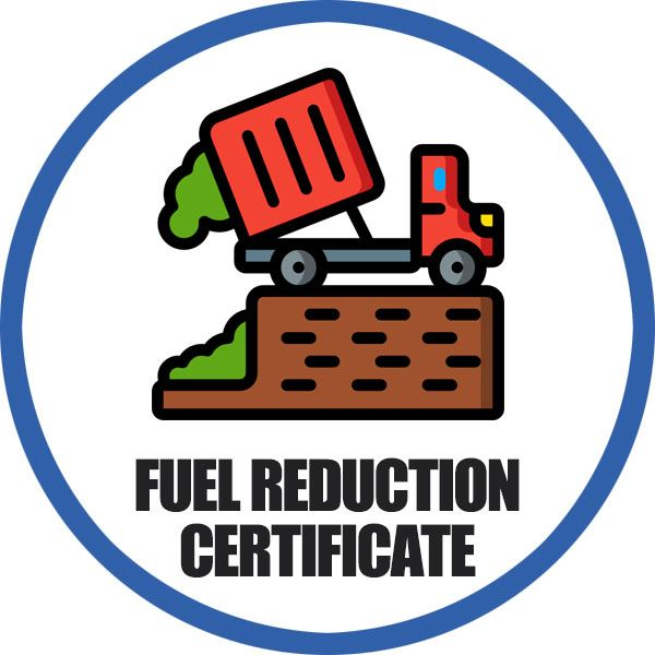 Pocatello Fire Department Fuel Reduction Landfill Certificate