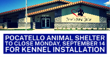 Pocatello Animal Shelter exterior